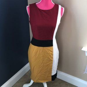 Dresses & Skirts - Calvin Klein color block dress